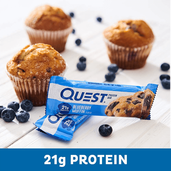 QUEST BAR, BLUEBERRY MUFFIN