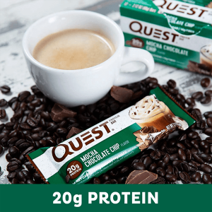 QUEST BAR, MOCHA CHOCOLATE CHIP