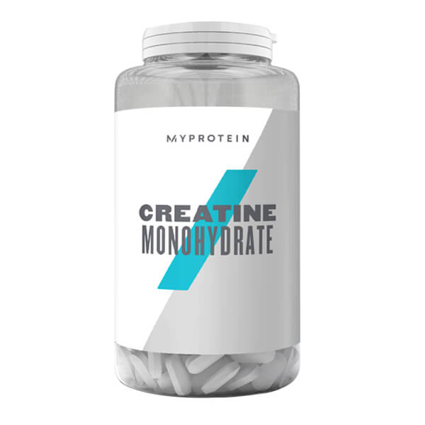 MYPROTEIN CREATINE MONOHYDRATE TABLETS, UNFLAVOURED, 250 TABLETS