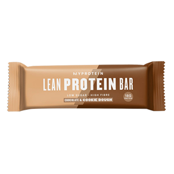 MYPROTEIN LEAN PROTEIN BAR, CHOCOLATE AND COOKIE DOUGH, 12 X 45 GRAMS