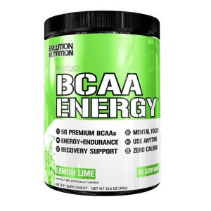 EVL BCAA ENERGY, LEMON LIME, 30 SERVINGS