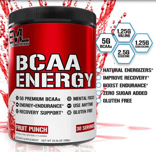 EVL BCAA ENERGY, FURIOUS GRAPE, 30 SERVING 2