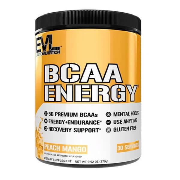 EVL BCAA ENERGY, PEACH MANGO, 30 SERVING p1