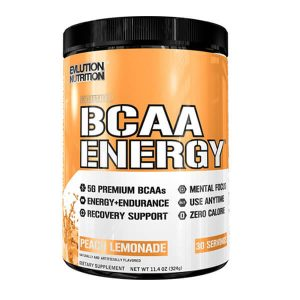 EVL BCAA ENERGY, PEACH MANGO, 30 SERVINGS