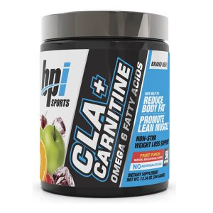 BPI CLA + CARNITINE, FRUIT PUNCH, 50 SERVING