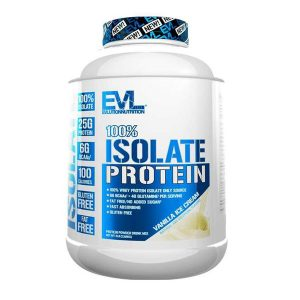 EVL 100% ISOLATE, VANILLA ICECREAM, 5 LBS