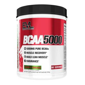 EVL BCAA 5000, CHERRY LIMEADE, 90 SERVINGS