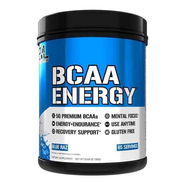 EVL BCAA ENERGY, BLUE RAZ, 65 SERVING 1