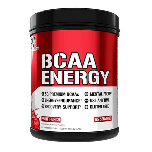 EVL BCAA ENERGY, FRUIT PUNCH, 65 SERVING