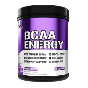 EVL BCAA ENERGY, FURIOUS GRAPE, 65 SERVING