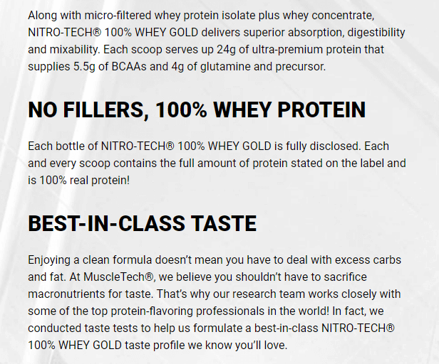 MUSCLETECH NITROTECH 100% WHEY GOLD, DOUBLE RICH CHOCOLATE, 8 LBS 6
