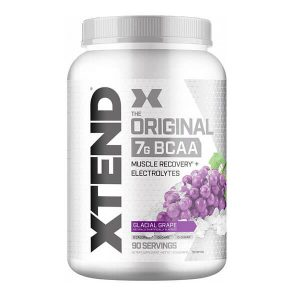 XTEND BCAA, GLACIAL GRAPE, 90 SERVING