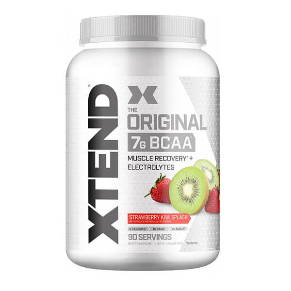 XTEND BCAA, STRAWBERRY KIWI SPLASH, 90 SERVING