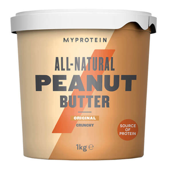 MYPROTEIN ALL NATURAL PEANUT BUTTER, CRNCHY