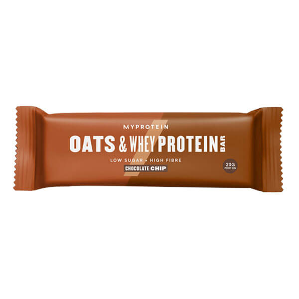 MYPROTEIN OATS & WHEY PROTEIN BAR, CHOCOLATE CHIP