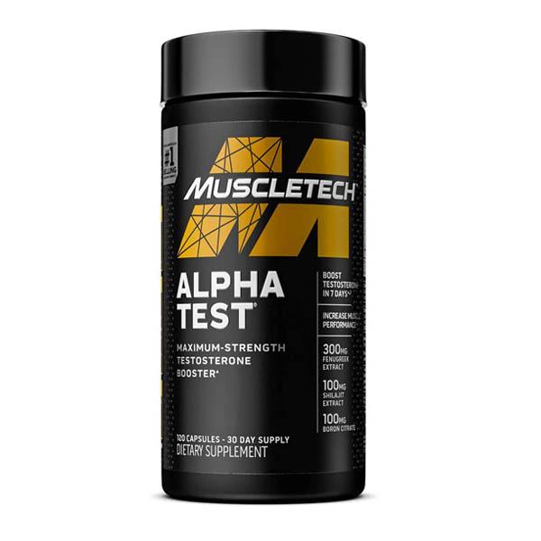MUSCLETECH ALPHA TEST, 120 CT