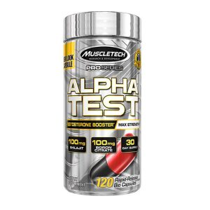 MUSCLETECH ALPHA TEST, 120 CT