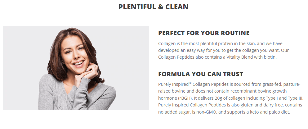 PURELY INSPIRED COLLAGEN PEPTIDES 6