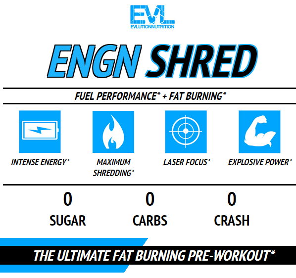 EVL ENGN SHRED, FRUIT PUNCH, 30 SERVING 15