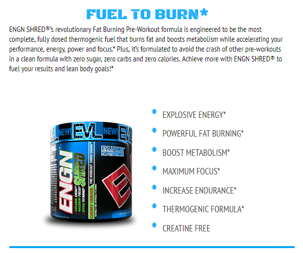 EVL ENGN SHRED, FRUIT PUNCH, 30 SERVING 16