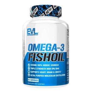 EVL OMGEA-3 FISH OIL, 60 SERVING