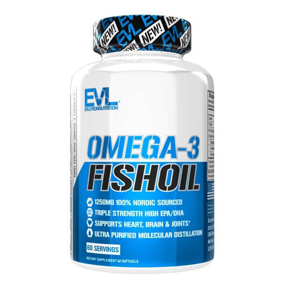 EVL OMGEA-3 FISH OIL, 60 SERVING