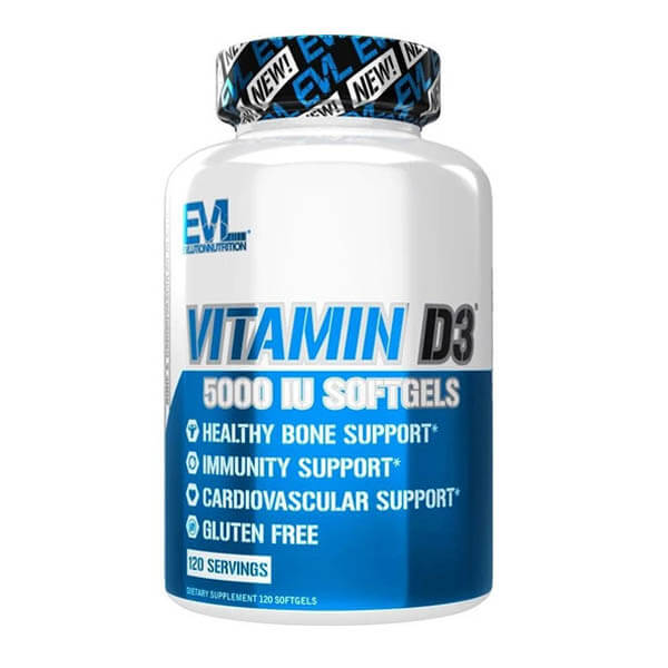 EVL VITAMIN D3, 120 SERVING