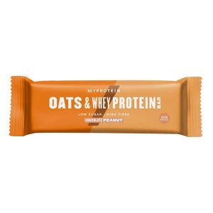 MYPROTEIN OATS & WHEY PROTEIN BAR, CHOCOLATE PEANUT