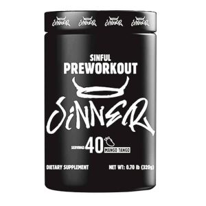WHEY LABS SINFUL PREWORKOUT, MANGO TANGO, 40 SERVING