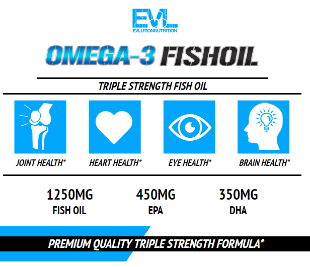 EVL OMGEA-3 FISH OIL, 60 SERVING 13
