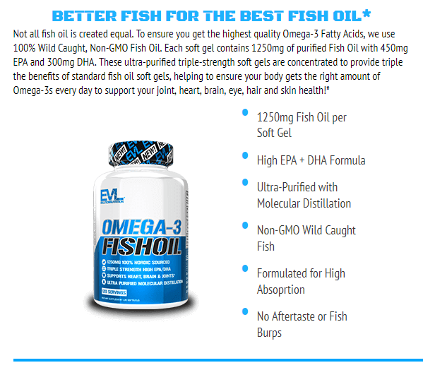 EVL OMGEA-3 FISH OIL, 60 SERVING 14