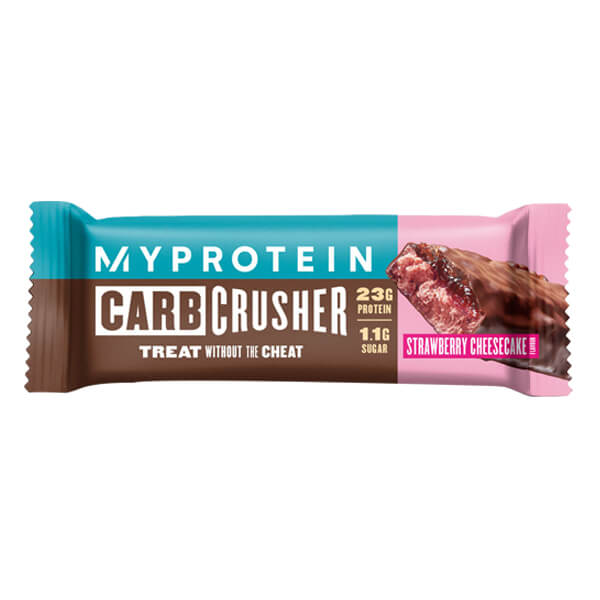 MYPROTEIN CARB CRUSHER, STAWBERRY CHEESCAKE