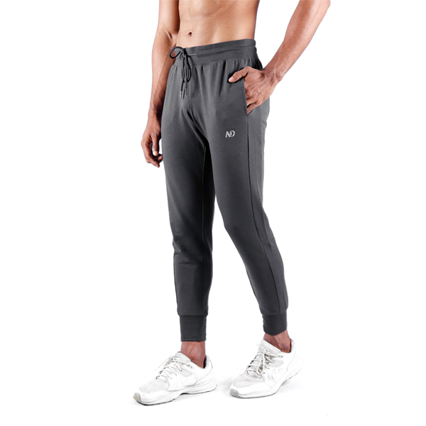 ND RAW ESSENTIAL JOGGERS – GRAPHITE 1