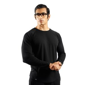 ND RAW ESSENTIAL LONG SLEEVE - BLACK f1