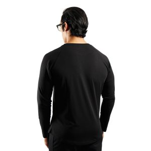 ND RAW ESSENTIAL LONG SLEEVE - BLACK f2
