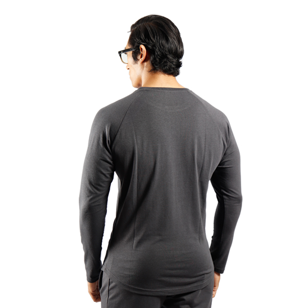 ND RAW ESSENTIAL LONG SLEEVE - GRAPHITE F2