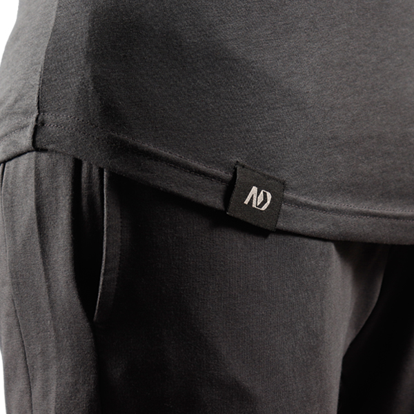 ND RAW ESSENTIAL LONG SLEEVE - GRAPHITE F4