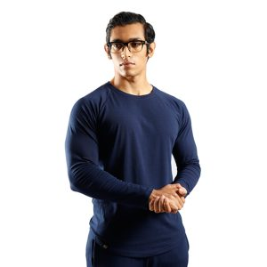 ND RAW ESSENTIAL LONG SLEEVE - NAVY f1