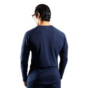 ND RAW ESSENTIAL LONG SLEEVE - NAVY f2
