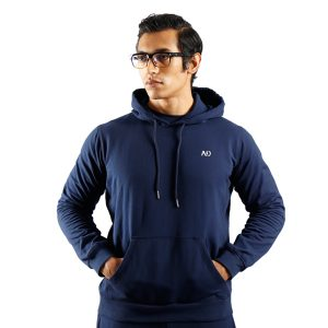 ND WINTER ESSENTIAL JOGGERS - NAVY F2