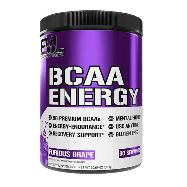 EVL BCAA ENERGY, FURIOUS GRAPE, 30 SERVING