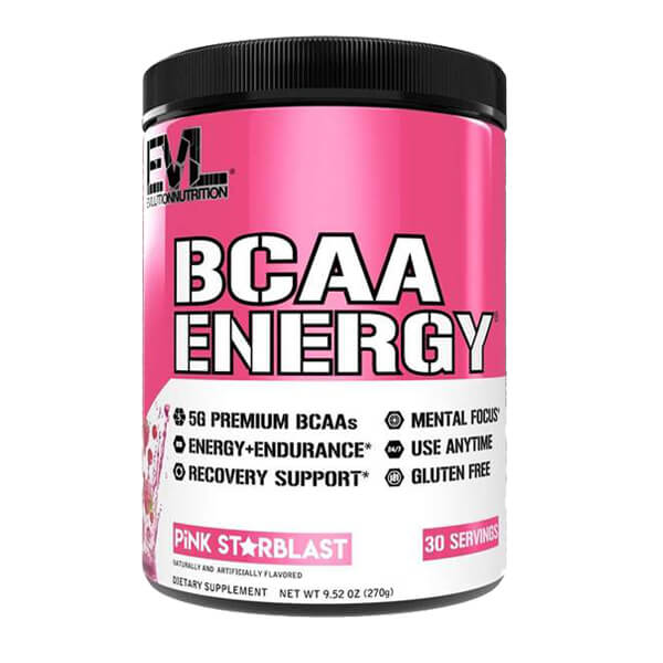 EVL BCAA ENERGY, PINK STARBLAST, 30 SERVING