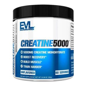 EVL CREATINE 5000, UNFLAVORED, 60 SERVING