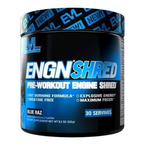EVL ENGN SHRED, BLUE RAZ, 30 SERVING 1