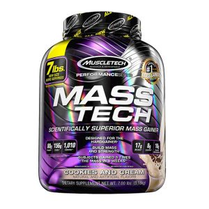 MUSCLETECH MASS TECH, COOKIES & CREAM, 7 LBS