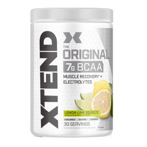 XTEND BCAA, LEMON LIME SQUEEZE, 30 SERVING