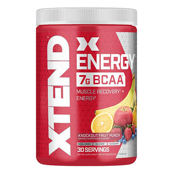 XTEND ENERGY, KNOCKOUT FRUIT PUNCH, 30 SERVING