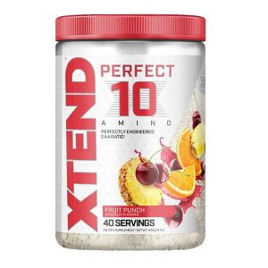XTEND PERFECT TEN AMINO, FRUIT PUNCH, 40 SERVING