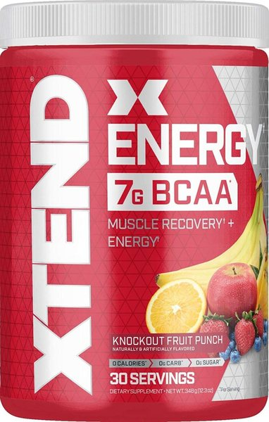 XTEND ENERGY, KNOCKOUT FRUIT PUNCH, 30 SERVING 1