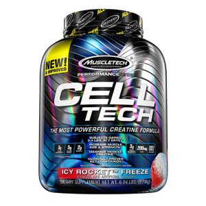 MUSCLETECH CELL TECH CREATINE, ICY ROCKET, 6LBS